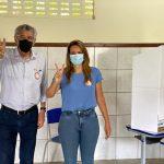 Eleições 2020: Ao votar, Herzem Gusmão se diz confiante com a vitória no primeiro turno