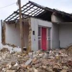 CONQUISTA: Casa desaba no bairro Brasil