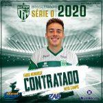ECPP contrata meio campo Fábio Henrique para reforçar alviverde