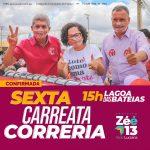 Eleições 2020: Após TRE revogar resolução, candidato Zé Raimundo confirma carreata nesta sexta-feira