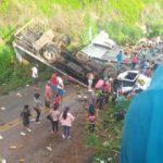 URGENTE: Grave acidente é registrado próximo ao distrito de Inhobim