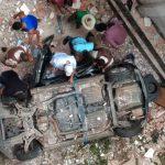 BAHIA: Homem morre após carro cair de altura de cerca de 5 metros em prédio