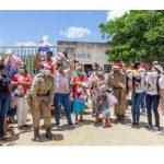 Solidariedade :Veja como foi a comemorações de Natal da Patrulha Solidária PM