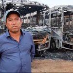 Prefeito Adiodato Araújo fala ao Redação Brasil sobre incêndio que destruiu ônibus escolares em Barra do Choça