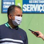 Em resposta ao Redação Brasil, secretário de serviços públicos de Conquista envia equipe para resolver problemas de iluminação da praça Guadalajara