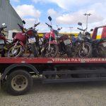 CONQUISTA: Em blitz, polícia apreende diversas motos na Limeira