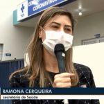 """""""As 4 mil doses serão destinadas aos profissionais de saúde que estão na linha de frente de combate a Covid-19""""; destaca Ramona Cerqueira"""