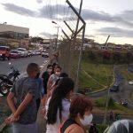 URGENTE: Homem ainda não identificado cai do viaduto no bairro Guarani