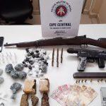 Jequié: Homem é preso com fuzil