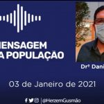 CONQUISTA: Direto do hospital Sírio-Libanês,  Dr. Danilo Gusmão, filho do prefeito Herzem fala sobre estado de saúde do pai