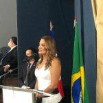 CONQUISTA: Empossada como vice-prefeita, Sheila Lemos fala sobre propostas e garante que Herzem está bem