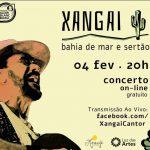 Concerto 'Bahia de mar e sertão' do cantor Xangai acontece no próximo dia 04 de fevereiro; Confira