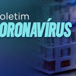 Boletim Epidemiológico registra 63 óbitos por covid-19
