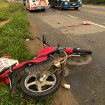 URGENTE: Motociclista se envolve em grave acidente no anel rodoviário em Vitória da Conquista
