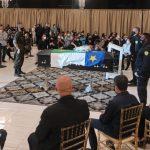 CONQUISTA: Vídeo mostra chegada do corpo de Herzem Gusmão para o velório