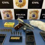 URGENTE: Polícia Civil prende integrantes de organização criminosa envolvida com tráfico de drogas em Vitória da Conquista