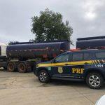 CONQUISTA: Em menos de 24 horas, mais um caminhão-tanque é apreendido pela PRF na BR116