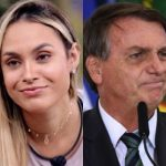 Ao assumir gostar de Bolsonaro, Sarah perde 200 mil seguidores e é alvo de tuítes negativos