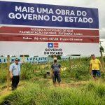 Luciano Gomes detalha luta pela pavimentação da estrada do Iguá