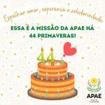 APAE comemora 44 anos em Vitória da Conquista