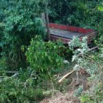 URGENTE: Vídeo mostra acidente na estrada da Limeira ocorrido hoje