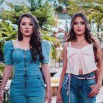 As cantoras Larissa Gomes e Amandda Rocha lançam clipeda música 'Dá uma chance'