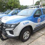 Governador reforça segurança de 15 municípios com entrega de 50 viaturas novas