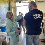 Profissionais de Segurança Pública e Salvamento são vacinados em Vitória da Conquista