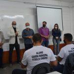 Bancada de Oposição fiscaliza curso preparatório da Guarda Municipal