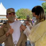 CONQUISTA: Vacinação para o Efetivo Policial começou nesta quinta-feira; Confira