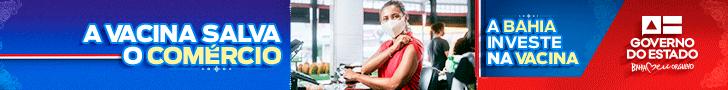 Governo do Estado - Vacina salva comercio