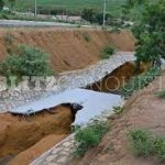 O Povo de Conquista fala: Cratera na Lagoa das Bateias cresce a cada dia
