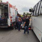 CONQUISTA: Motociclista fica ferida em grave acidente no bairro Urbis 6