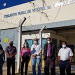 Comissão de Direitos Humanos da Câmara se reúne com direção do Conjunto Penal de Vitória da Conquista