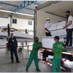 Novos lotes com mais de 629 mil doses de vacina contra a Covid-19 chegam à Bahia