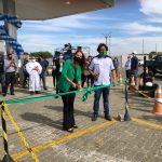 Prefeita participa de inauguração do primeiro posto de Gás Natural Veicular da região