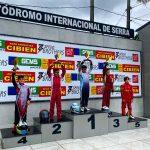 Piloto conquistense  Murilo Duarte vence mais duas corridas em etapa do campeonato capixaba de kart
