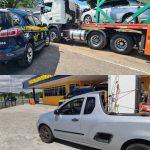 Jequié: PRF flagra dois veículos adulterados nas rodovias federais