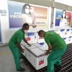 Bahia recebe mais de 494 mil doses de vacina contra Covid-19 neste sábado