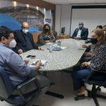 CONQUISTA: Prefeita negocia com Embasa doação definitiva para o município de antigas lagoas de decantação