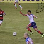 Bahia é dominado e leva cinco do Flamengo no estádio de Pituaçu