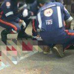CONQUISTA: Homem é esfaqueado em praça do bairro Brasil na madrugada de hoje
