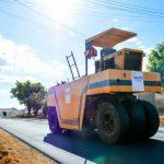 O Povo de Conquista fala: Menos de um mês após obra, asfalto cede no bairro Bruno Bacelar