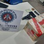 Itapetinga: Casal tenta fugir de polícia e é pego com 16 kg de cocaína