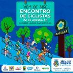 Vem de Bike: evento celebra Semana Municipal de Incentivo ao Ciclismo