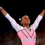 Ginástica artística: Rebeca Andrade brilha e é ouro no salto