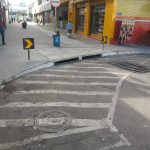 Absurdo em Conquista: Alameda recém construída, não tem rampa de acessibilidade