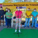 Semana Nacional do Trânsito é lançada em Conquista chamando motoristas, ciclistas e pedestres à responsabilidade