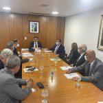 Em reunião na Casa Civil, presidente da Câmara pede devolução da área do aeroporto e Barragem do Rio Pardo