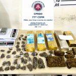 Conquista: Homem é preso por tráfico de drogas no bairro Alto Maron